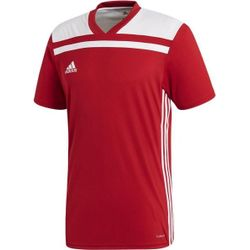 Adidas Regista 18 Shirt Korte Mouw - Rood / Wit