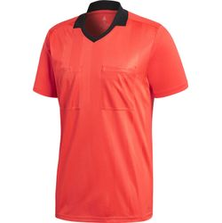 Adidas Ref18 Scheidsrechtersshirt Korte Mouw Heren - Bright Red