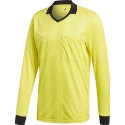 Adidas Ref18 Scheidsrechtersshirt Lange Mouw Heren - Shock Yellow