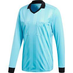 Adidas Ref18 Scheidsrechtersshirt Lange Mouw Heren - Bright Cyan