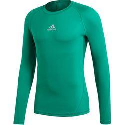 Adidas Alphaskin Maillot Manches Longues Hommes - Vert