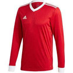 Adidas Tabela 18 Voetbalshirt Lange Mouw Heren - Rood / Wit
