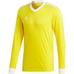 Adidas Tabela 18 Voetbalshirt Lange Mouw Heren - Geel