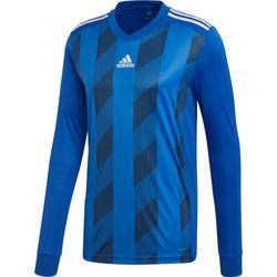 Adidas Striped 19 Voetbalshirt Lange Mouw Kinderen - Royal / Wit