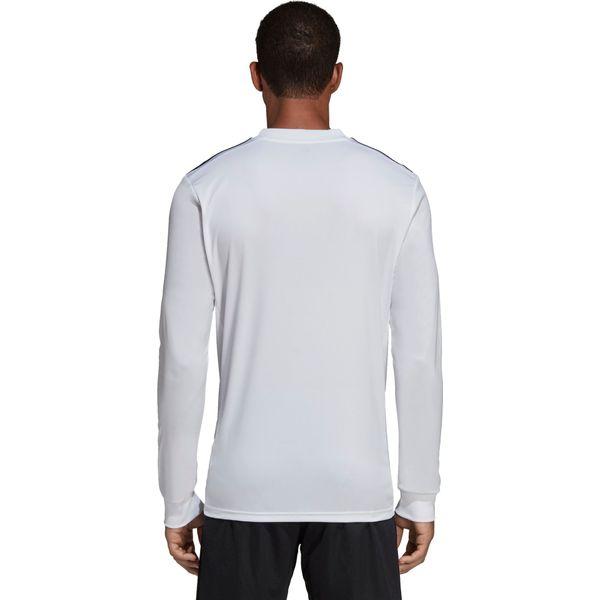 Adidas Striped 19 Voetbalshirt Lange Mouw Kinderen - Wit / Zwart