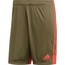 Adidas Tastigo 19 Short Heren - Shock Red / Khaki