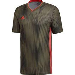 Adidas Tiro 19 Shirt Korte Mouw Heren - Khaki