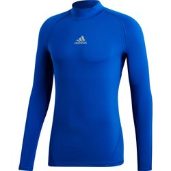 Adidas Alphaskin Warm Shirt Opstaande Kraag - Royal