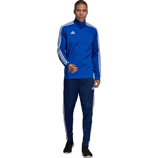 Adidas Tiro 19 Trainingsvest Kinderen - Royal / Marine / Wit