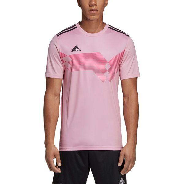 Adidas Campeon 19 Shirt Korte Mouw Kinderen - Roze