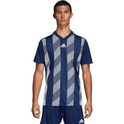 Voorvertoning: Adidas Striped 19 Shirt Korte Mouw Kinderen - Marine / Wit