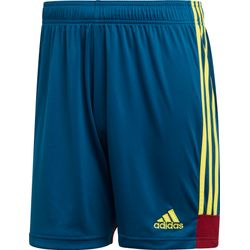 Adidas Tastigo 19 Short Hommes - Marine / Jaune Fluo