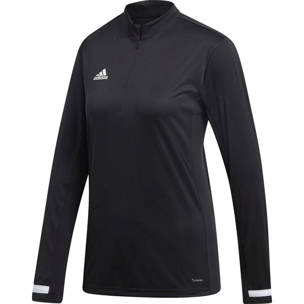 Adidas Team 19 Ziptop Dames - Zwart / Wit