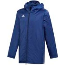 Adidas Core 18 Veste Coach Enfants - Marine / Blanc