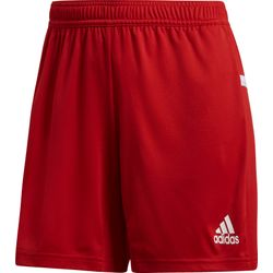 Adidas Team 19 Short Femmes - Rouge / Blanc