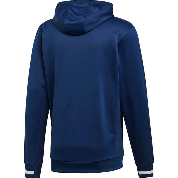 Adidas Team 19 Sweater Met Kap Kinderen - Marine / Wit