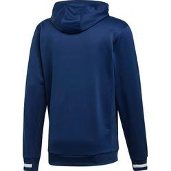 Voorvertoning: Adidas Team 19 Sweater Met Kap Kinderen - Marine / Wit