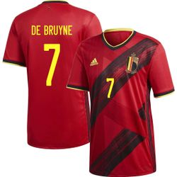 Adidas Maillot Belgique Domicile Hommes - Rouge