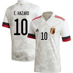 Adidas Maillot Belgique Extérieur Hommes - Blanc / Rouge / Noir
