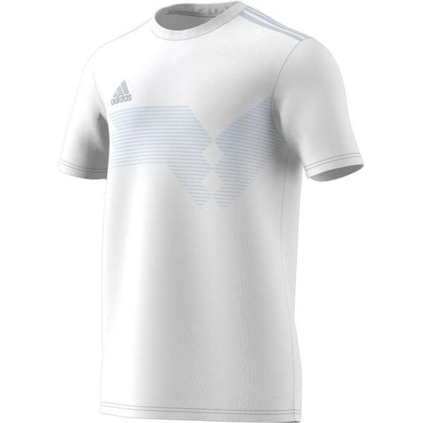 Adidas Campeon 19 Shirt Korte Mouw - Wit