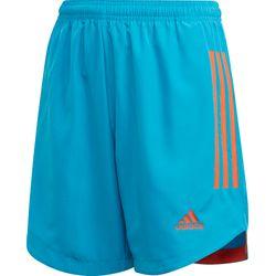 Adidas Condivo 20 Primeblue Short Kinderen - Blauw / Oranje
