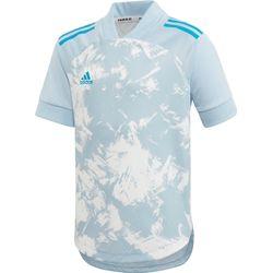 Adidas Condivo 20 Primeblue Shirt Korte Mouw Kinderen - Lichtblauw / Wit