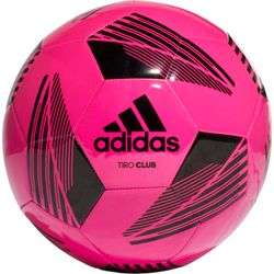 Adidas Tiro Club Trainingsbal - Fluo Roze / Zwart