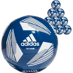 Adidas Tiro Club (10X) Ballenpakket - Marine