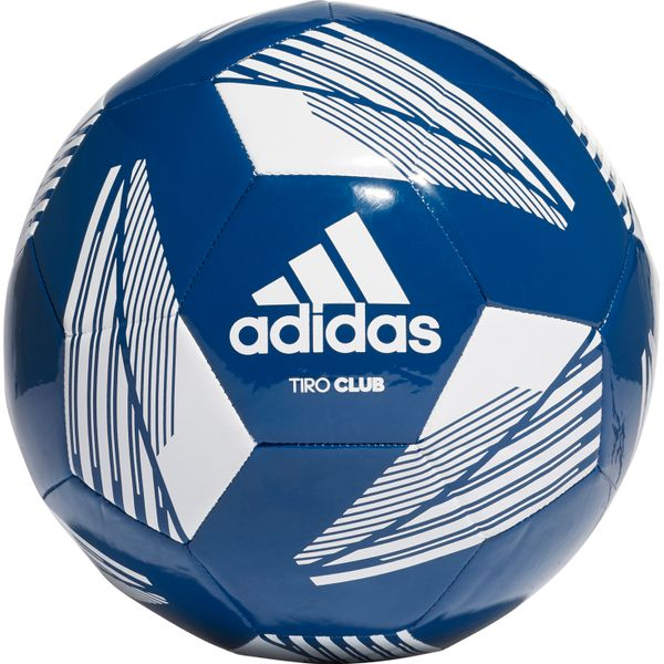 Adidas Tiro Club Trainingsbal - Marine / Wit