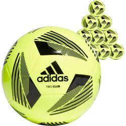 Adidas Tiro Club (10X) Ballenpakket - Fluogeel