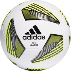 Adidas Tiro League Trainingsbal - Wit / Zwart / Fluogeel