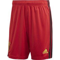 Adidas Short Belgique Domicile Hommes - Rouge
