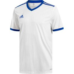 Adidas Tabela 18 Maillot Manches Courtes Hommes - Blanc / Royal