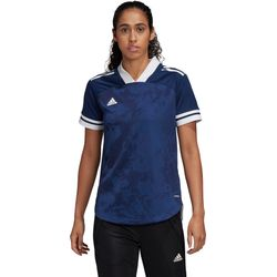 Adidas Condivo 20 Shirt Korte Mouw Dames - Marine