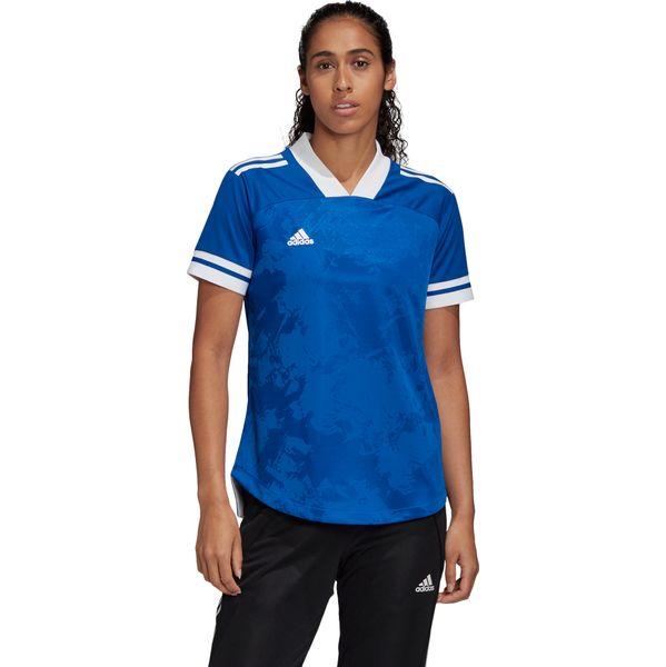Adidas Condivo 20 Shirt Korte Mouw Dames - Royal