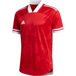 Adidas Condivo 20 Maillot Manches Courtes Hommes - Rouge