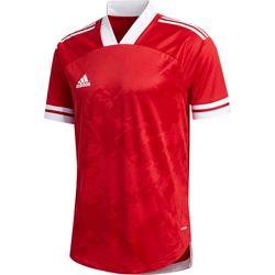 Adidas Condivo 20 Shirt Korte Mouw Heren - Rood