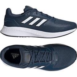 Adidas Runfalcon 2.0 Chaussures De Course Hommes - Marine / Blanc