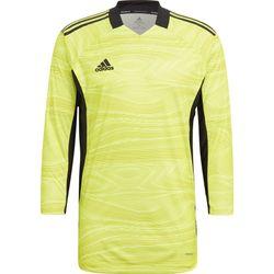 Adidas Condivo 21 Maillot De Gardien Manches Longues Hommes - Jaune Fluo