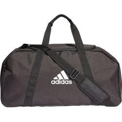 Adidas Tiro Medium Sporttas Met Zijvakken - Zwart