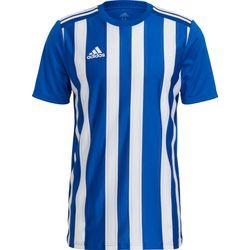 Adidas Striped 21 Shirt Korte Mouw Heren - Royal / Wit