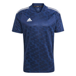 Adidas Condivo 21 Shirt Korte Mouw - Marine