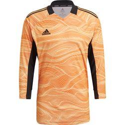 Adidas Condivo 21 Maillot De Gardien Manches Longues Hommes - Orange Fluo