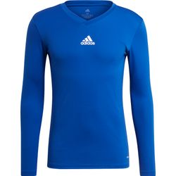 Adidas Base Tee 21 Shirt Lange Mouw Heren - Royal