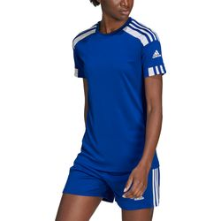 Adidas Squadra 21 Maillot Manches Courtes Femmes - Royal / Blanc