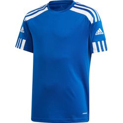 Adidas Squadra 21 Shirt Korte Mouw Kinderen - Royal / Wit
