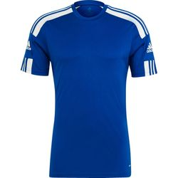 Adidas Squadra 21 Shirt Korte Mouw Heren - Royal / Wit