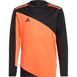 Adidas Squadra 21 Maillot De Gardien Manches Longues Enfants - Rouge Fluo / Noir