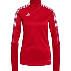 Adidas Tiro 21 Ziptop Dames - Rood