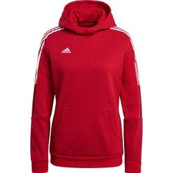 Adidas Tiro 21 Sweat À Capuchon Femmes - Rouge